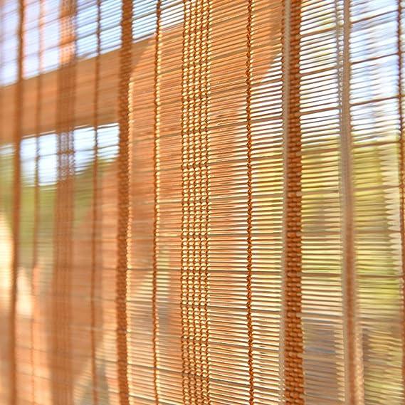 Persiana de bambú Persianas Premium para Interiores/Exteriores ...