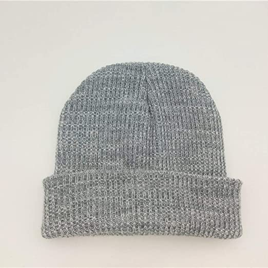 295f54f0f8a Amazon.com   Liobaba Warm Beanie Knit Hats Double-Deck Winter Outdoor for  Travel Hiking Camping Fishing Cycling Ski