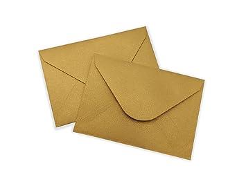 Amazon elegant mini envelopes gold 100 pack 4 x 275 gift elegant mini envelopes gold 100 pack 4 x 275quot gift card envelopes colourmoves