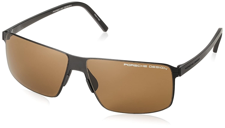 [ポルシェデザイン] PORSCHE DESIGN サングラス メンズ P8646 B077P6B2C1 日本 59 (FREE サイズ)|ブラック ブラック 日本 59 (FREE サイズ)