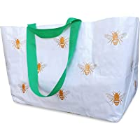 Beach Bag Tote And Reusable Shopping Bag For Women To Carry Towels And Accessories – Perfect For Travel Overnight…