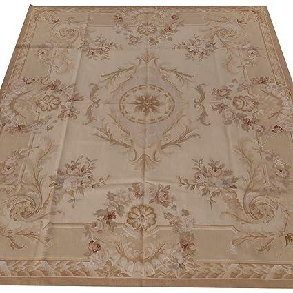 Amazon Com Yilong Carpet 8 X 10 Vintage Floral Handmade French