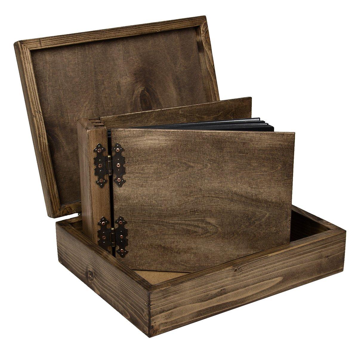 Bien connu Aldecor - Cofanetto in legno per album fotografici, misura 4  SE04