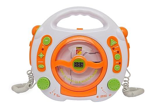 118 opinioni per Idena 6800533- Lettore CD und MP3 con 2 microfono per cantare sulla musica e