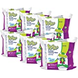 Kandoo Kids Flushable Wipes Refill, Potty Training Cleansing Cloths, Magic Melon, 600 Wipes (Packaging May Vary)