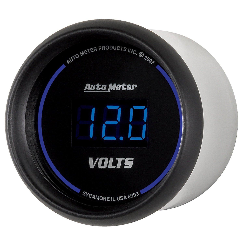 Auto Meter 6993 Cobalt Digital Voltmeter Gauge