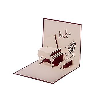 Die Besten Klaviere glückwunschkarte klavier originelle geburtstagskarte