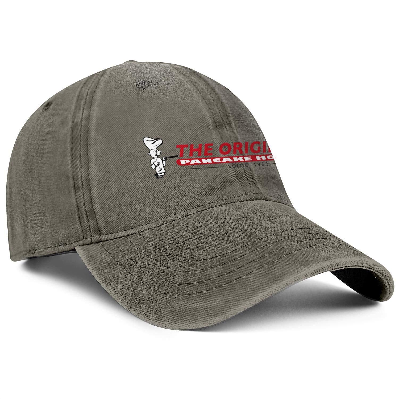 WintyHC The Original Pancake House Logo Cowboy Hat Bucket Hat One Size Skull Cap
