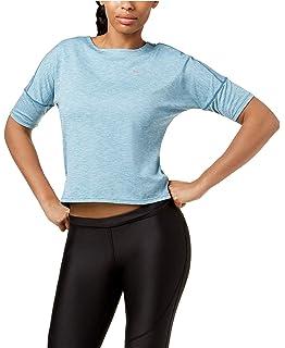 c4ebd0b366da8a Nike Womens Cropped Dri-Fit Pullover Top