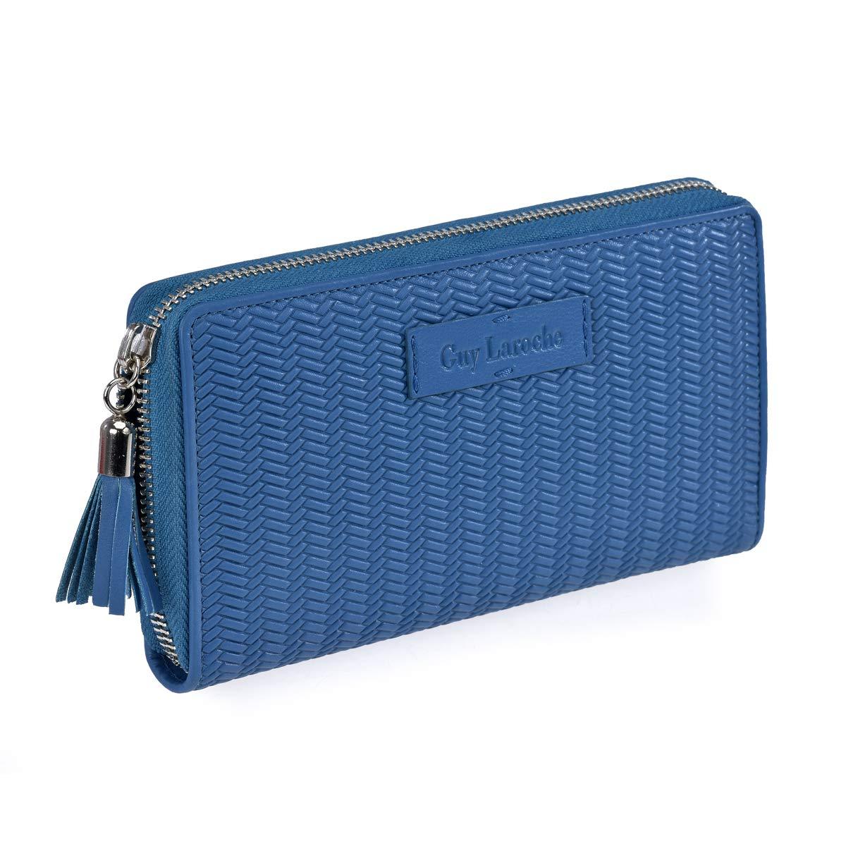 Monedero Mujer con Billetero Guy Laroche 7200 (Azul): Amazon ...
