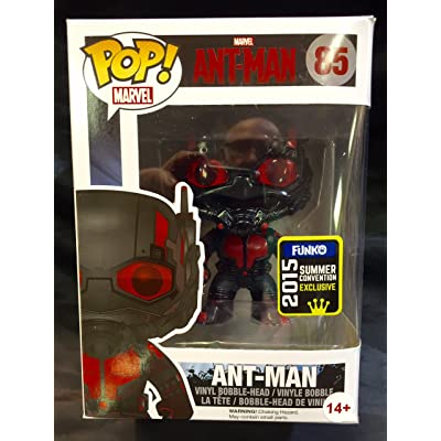 Funko POP Marvel: Black Out Ant-Man Action Figure: Toys & Games