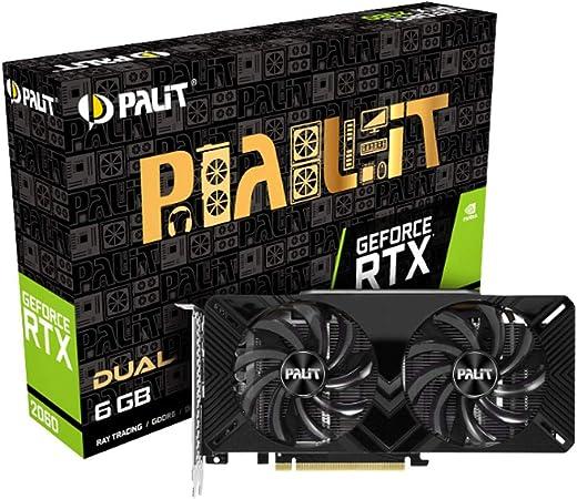 Palit GeForce RTX 2060 Dual Graphics Card 6 GB GDDR6: Amazon.de: Computers & Accessories