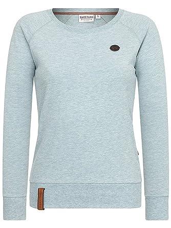 Naketano Damen Longsleeve Krokettenhorst VII T-Shirt  Amazon.de  Bekleidung 4065c568a4