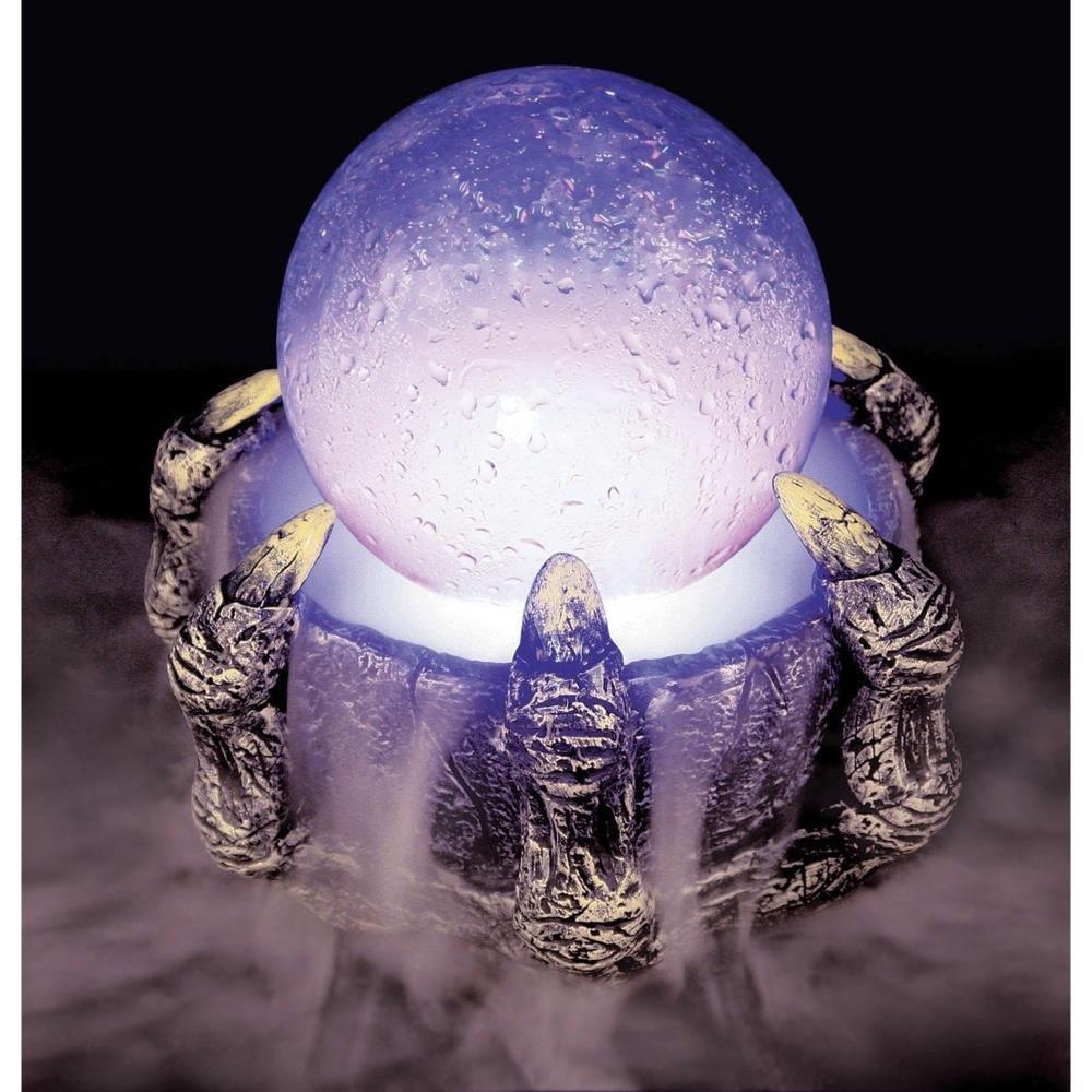 Crystal Ball Mister Halloween Decoration