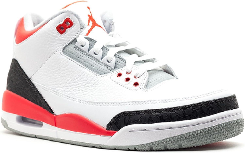 Nike Air Jordan 3 Retro para Hombre Trainers 136064 120 Zapatillas ...