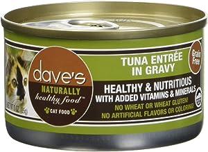 Dave's Pet Food Tuna Entrée Food (24 Cans Per Case)