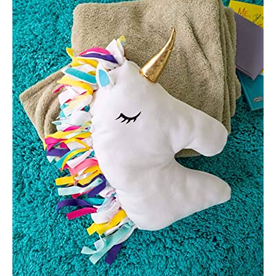 Unicorn Knot-a-Pillow: Toys & Games