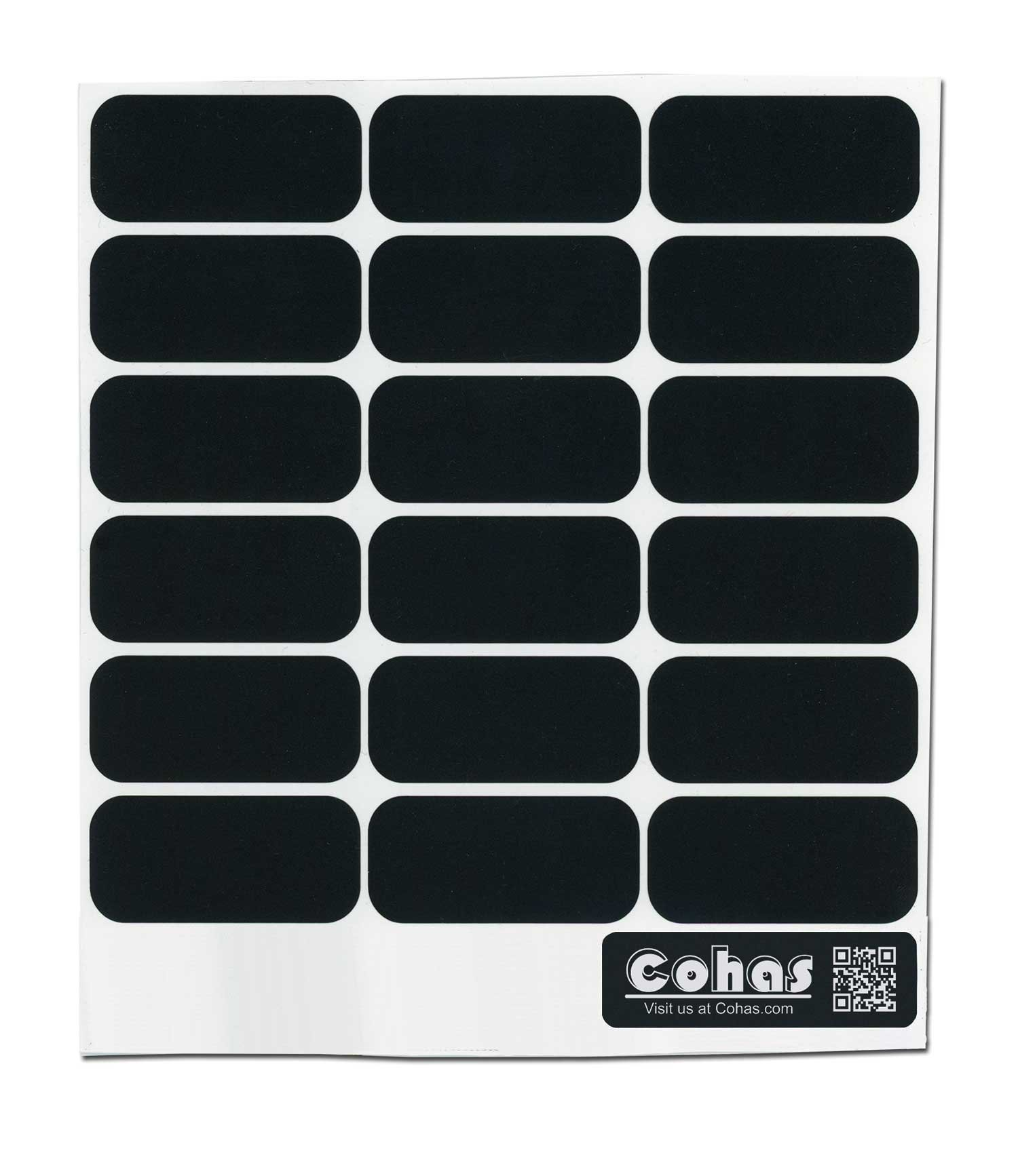 Cohas Chalkboard Labels for Party Cups and Supplies includes No Marker and 126 Labels, Refill Kit, No Marker