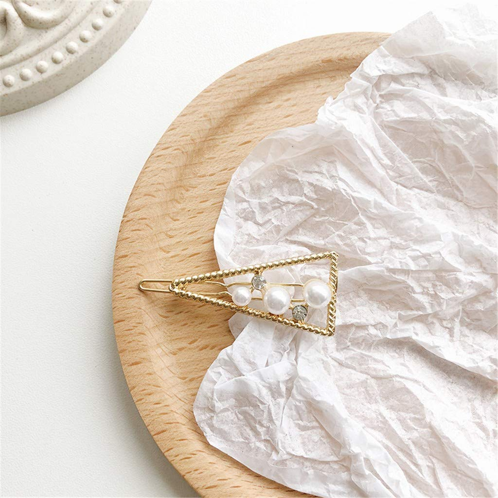 Yesmile Mode Pinces /à Cheveux Perles,Les Femmes Perle Diamant Cheveux Clip Bobby Pin Hairband Barrette /éPingle Peigne Accessoire
