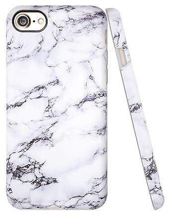 Amazon.com: Funda para iPhone 7, con estampado de piedra de ...