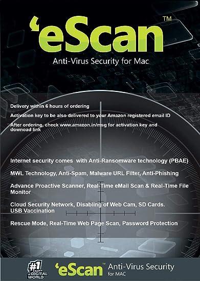 Amazon com: Antivirus for Mac 3 Users 3 Years