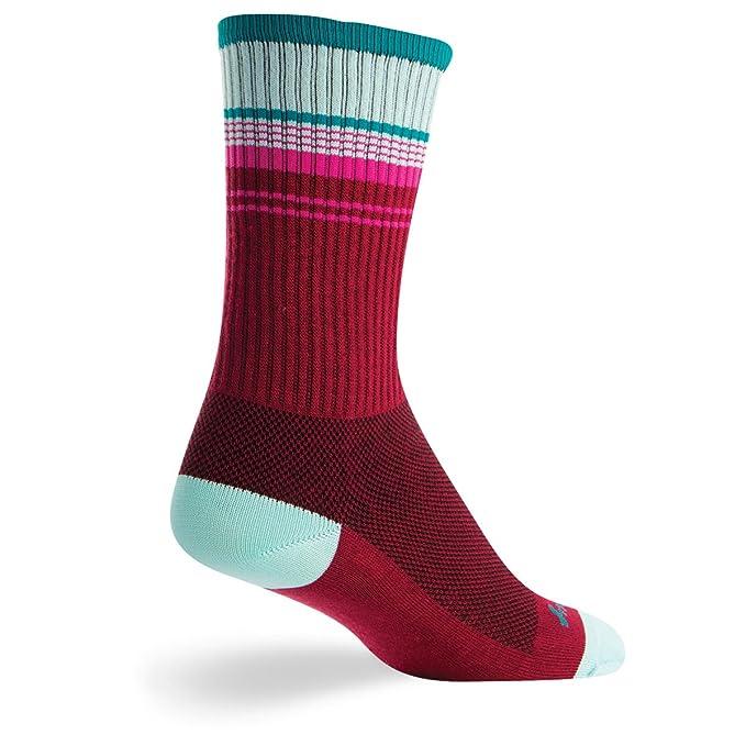 SockGuy Wool Sriracha Sock Red LG//XL