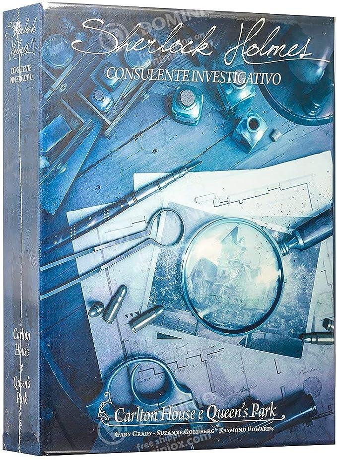 Asmodee Sherlock Holmes Consulente Investigativo - Carlton House & Queens Park - Board Game in Italian: Amazon.es: Juguetes y juegos