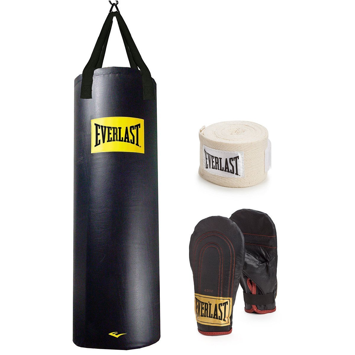 Everlast 100-pound Bag Nevatear Heavy Bag kit 100lb with with kit B00VPSS09Y, しおみの杜:31f3594b --- capela.dominiotemporario.com