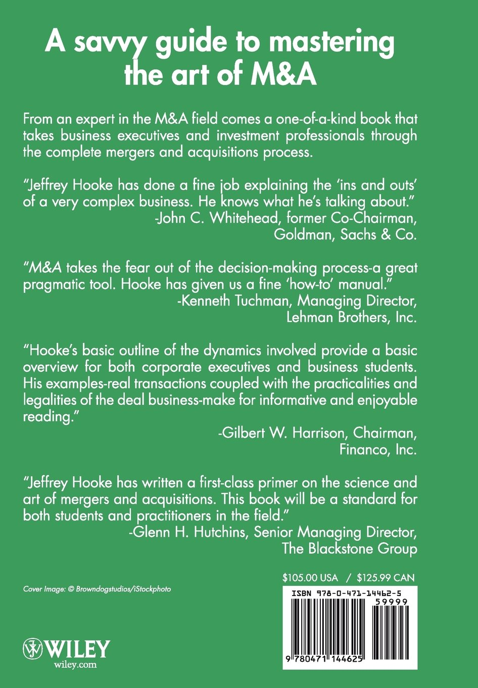 M & A: A Practical Guide to Doing the Deal by Wiley (Image #1)