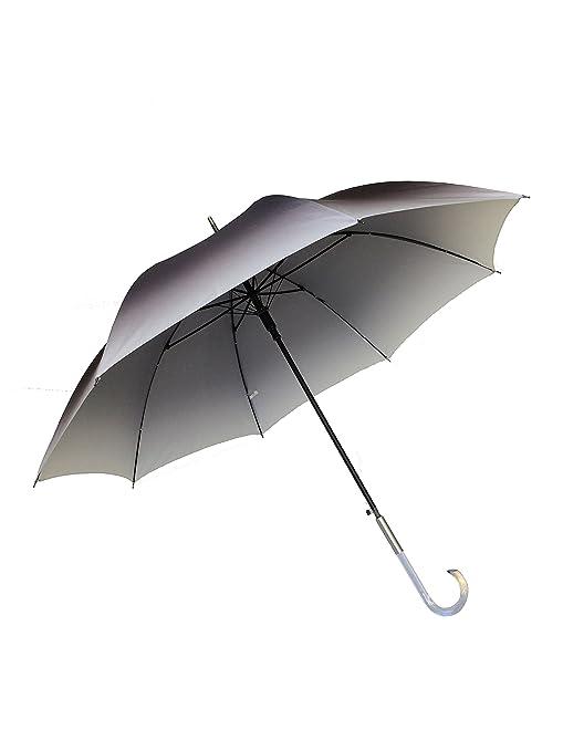 SMATI Paraguas largo señora automático Antiviento -Tie & Tinte (Negro)