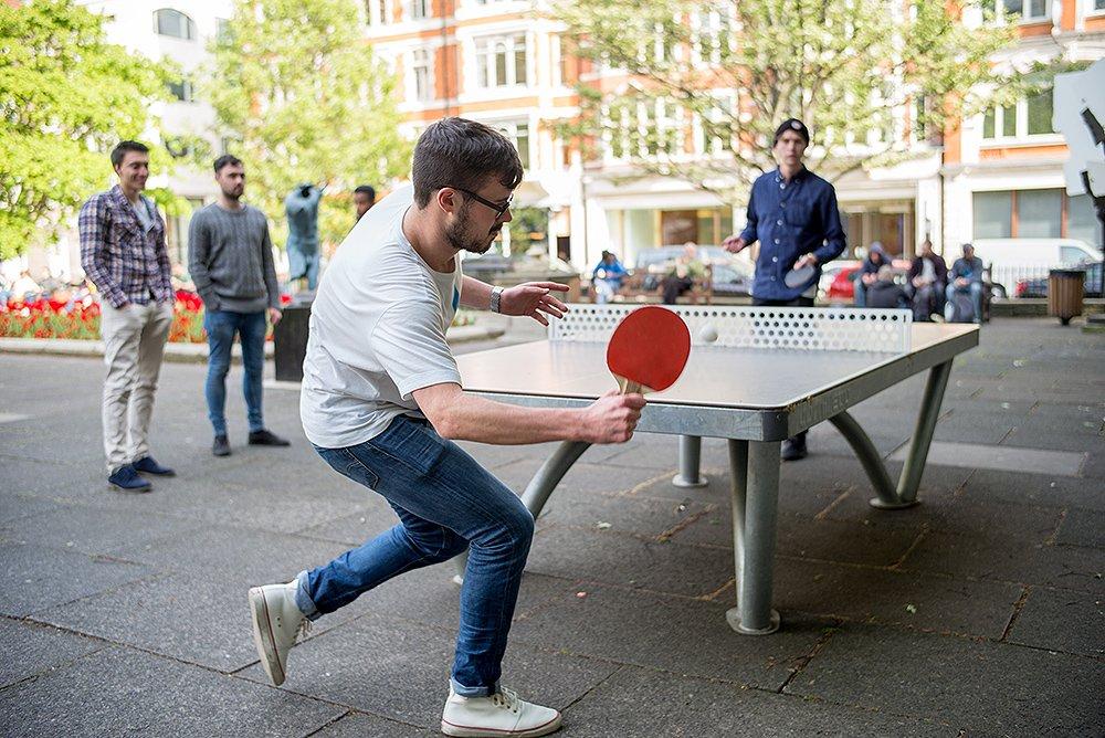 Boliprince Ping Pong Paddles 2-Player Table Tennis Racket Set With 3 balls