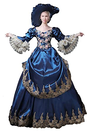 ed96e9b30d3f High-end Court Rococo Baroque Marie Antoinette Ball Dresses 18th Century  Renaissance Historical Period Dress
