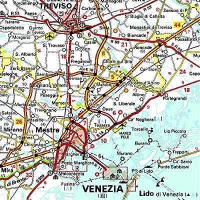 Mapa Regional Italia Nord Est (Carte regionali): Amazon.es: MICHELIN: Libros en idiomas extranjeros