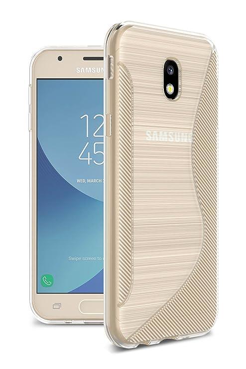 Funda para Samsung Galaxy J3 2017 Diseño S-Line Ultra ligero ...