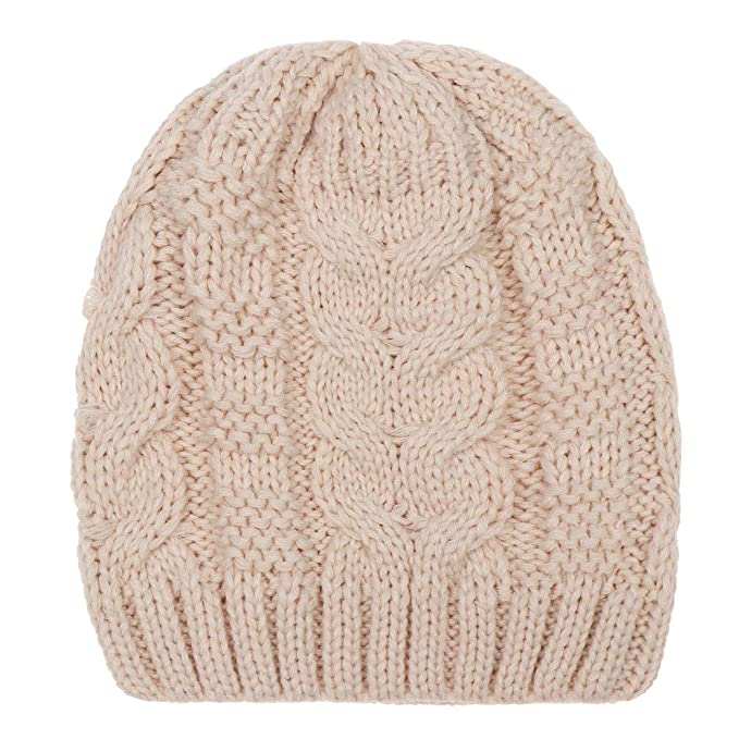 Kppong 2018 Mode Frauen Mützen Häkeln Warme Winter Twist Wolle