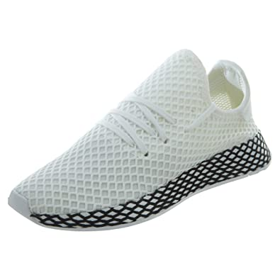 quality design 8bb40 daa14 adidas Originals Deerupt Runner Shoe - Junior s Casual 3.5 White Black
