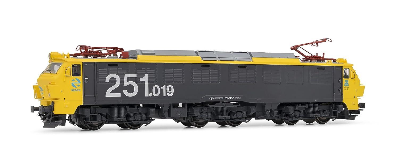 Electrotren - Locomotora 251.015, Color Amarillo y Gris (Hornby E2596)