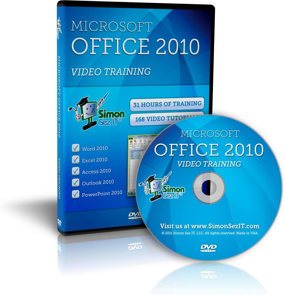 Microsoft Office 2010 Training - Video Tutorials for Excel, Word, PowerPoint, Outlook, and Access 2010
