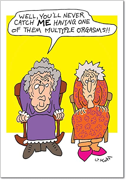 Amazon 4696 Cranky Grandma Inappropriate Birthday Card With