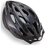 Schwinn Capacete de bicicleta Thrasher, design leve de microconcha, tamanhos para adultos, jovens e crianças