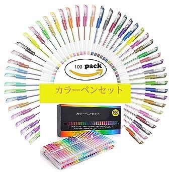 Amazoncojp Mocent カラーペン ジェルボールペン 水性ペン 蛍光ペン
