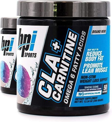 BPI Sports Cla Carnitine Non-Stimulant Weight Loss Supplement Powder