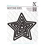 Xcut 5-Piece Nesting Dies Star, Black