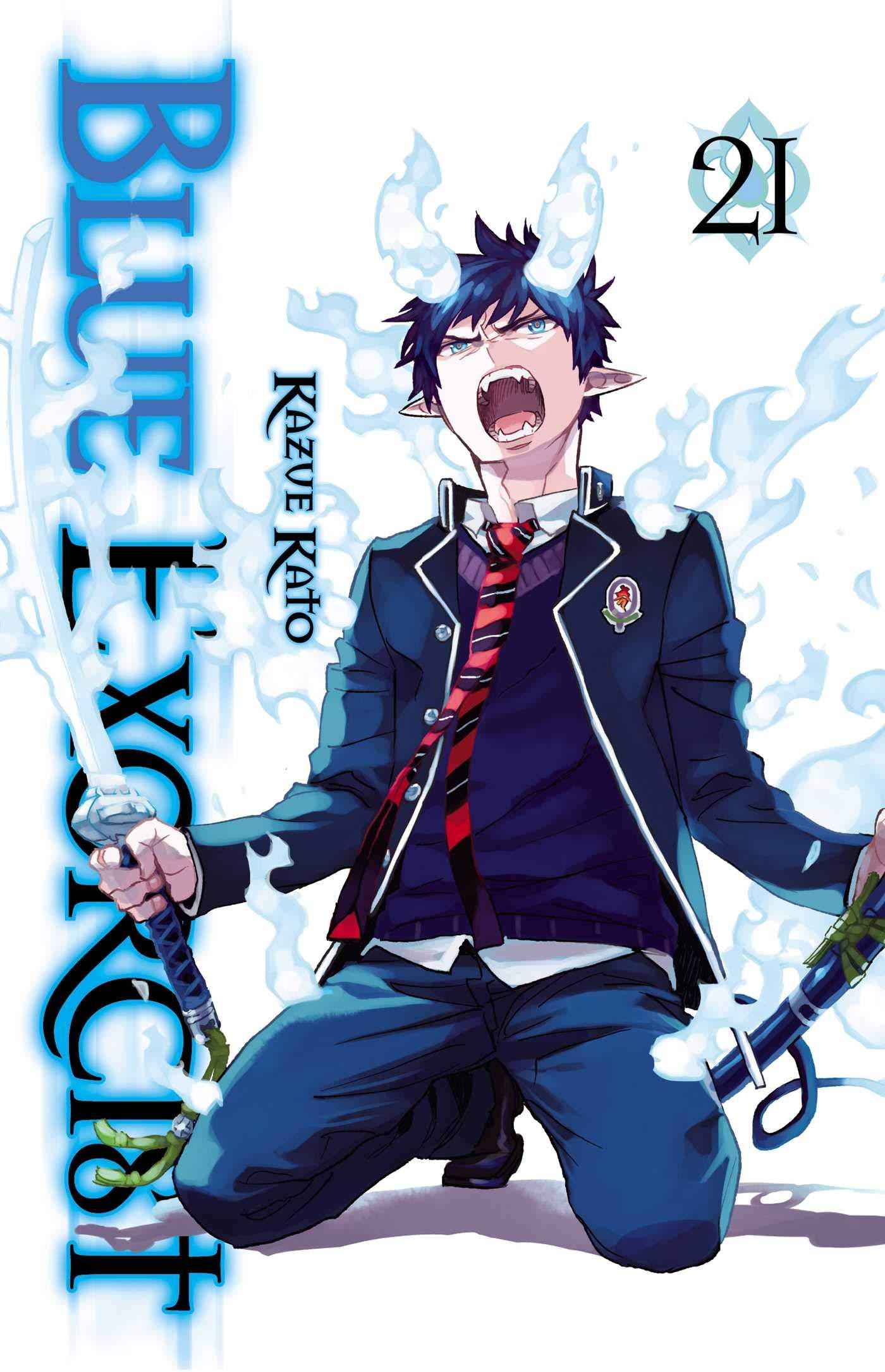 blue exorcist vol 21 kazue kato 9781974703937 amazon com books