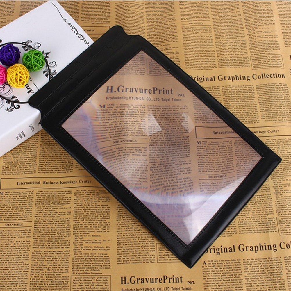 Careshine 3X Magnifier Handheld lettura Aiuti per A4 piena pagina di grandi dimensioni di ingrandimento Scheda Careshine-Home