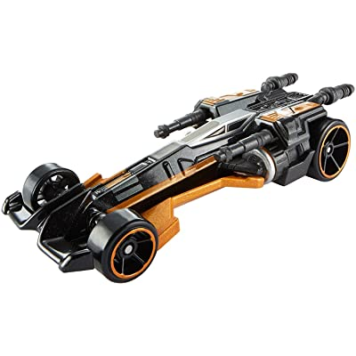 Hot Wheels Star Wars Poe's X-Wing Fighter (The Force Awakens) Carship Vehicle: Toys & Games