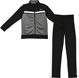 Spalding Boys Tricot Athletic Two-Piece Tracksuit Set