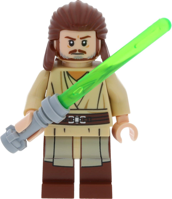 LEGO Star Wars Minifigur Qui-Gon Jinn aus Set 75169 incl. 1 GALAXYARMS Schwert