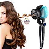 ACEVIVI Automatic Curling Wand Ceramic Curling Wand Pro Hair Ceramic Curler Iron 8 Seconds Volume Waving Roller Tool Styling Tong Curl Wand for Women