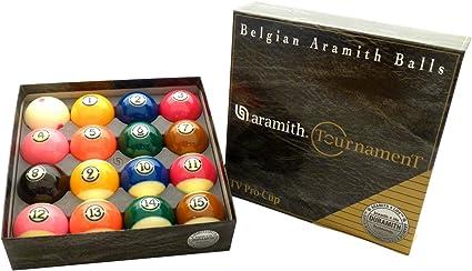 Torneo de Aramith Pro-cup TV Juego de bolas de billar: Amazon.es: Deportes y aire libre